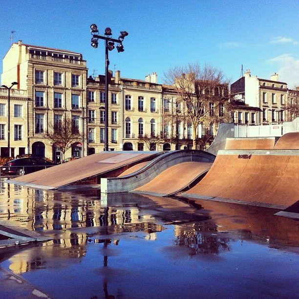 Skate parc, Quai des Chartrons, Bordeaux - France - WILL TAKE JACQUES ONE DAY!