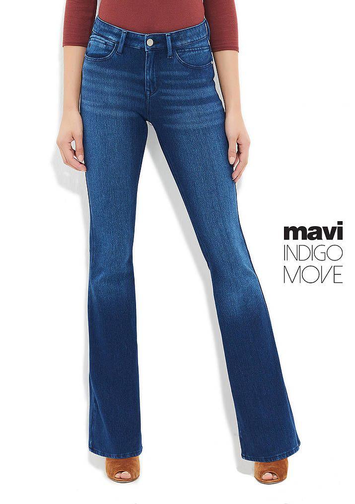 Ida Orta Mavi Move Jean Pantolon