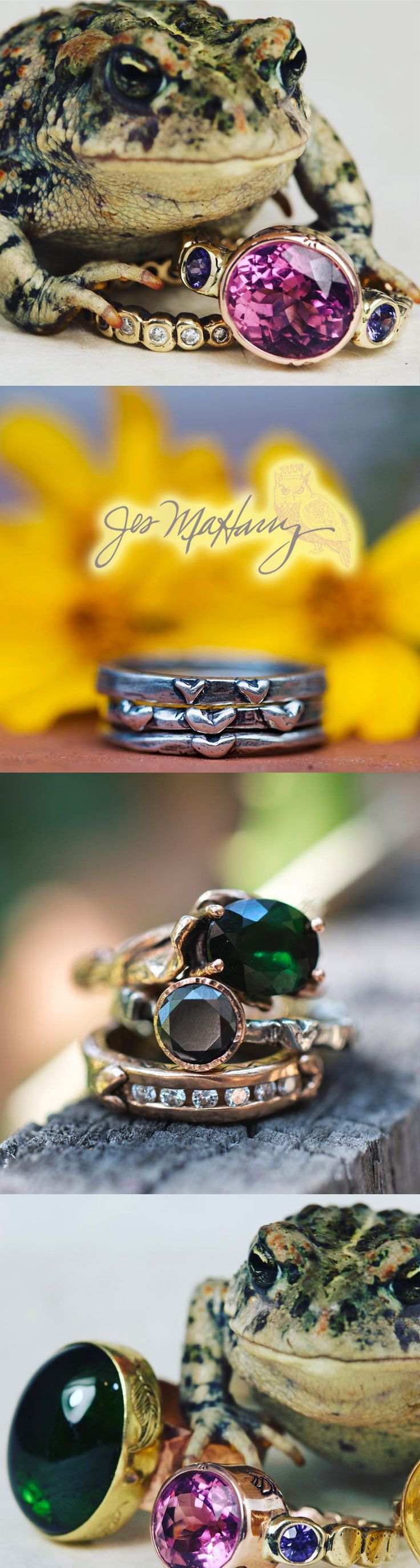 Artisan Rings - Unique Jewelry by Jes MaHarry