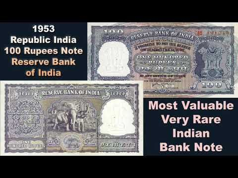 Most Valuable British India Currency's 10 & 100 Rupees Note