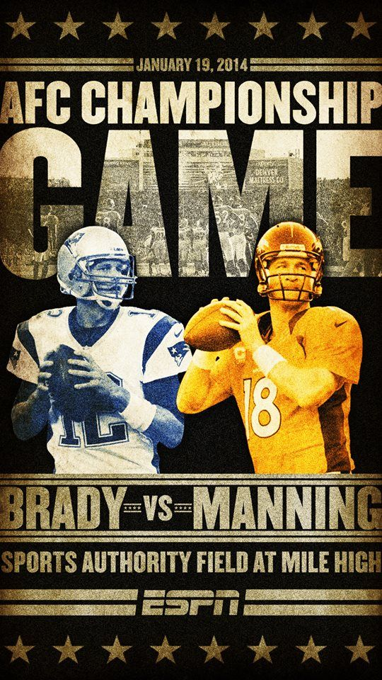 Broncos Vs. Patriots AFC Championship game