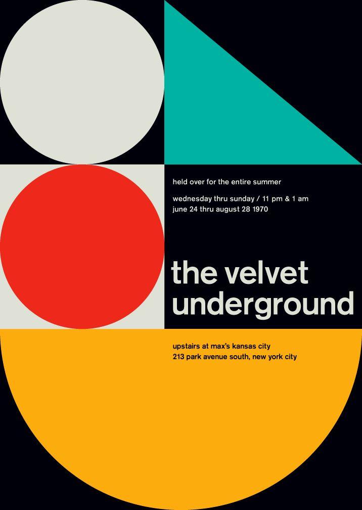 """O desinger Mike Joyce uniu duas paixões: rock e o modernismo suiço. Através dessa união, entre movimentos que são pouco relacionados, nasceu o projeto """"Swissted""""."""