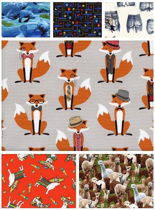 Great novelty fabrics!