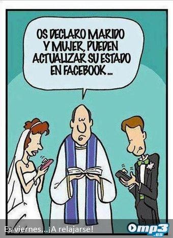 Tecno humor: El matrimonio se actualiza
