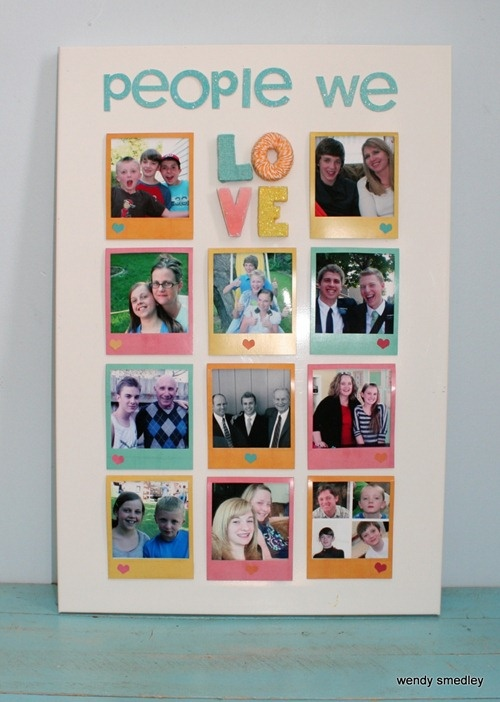 38 best images about photo board ideas on pinterest for Family display board ideas