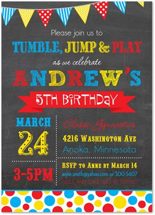 134 best Kids Birthday Invitations images on Pinterest Kid