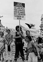 Día Internacional de la Mujer en Argentina