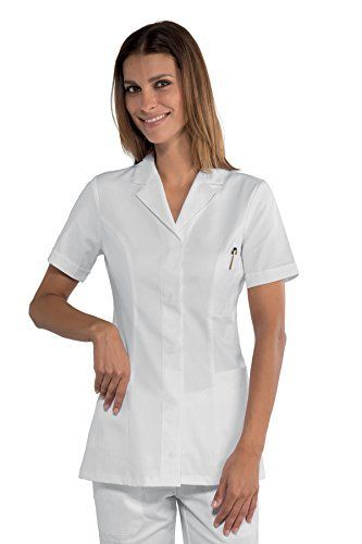 Isacco – Blouse pharmacie manches courtes: Blouse pharmacie manches courtes Moderne, cette tunique medicale femme apportera l'expression de…