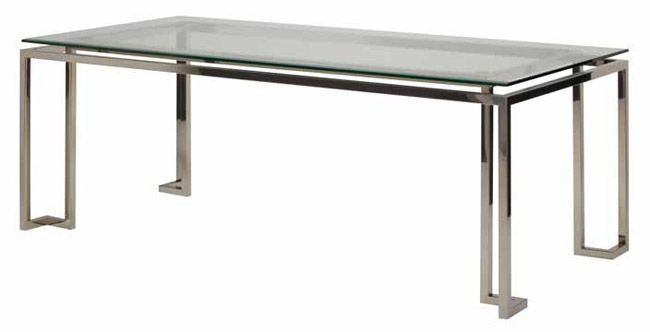 tessa dining table from cadieux interiors dining tables