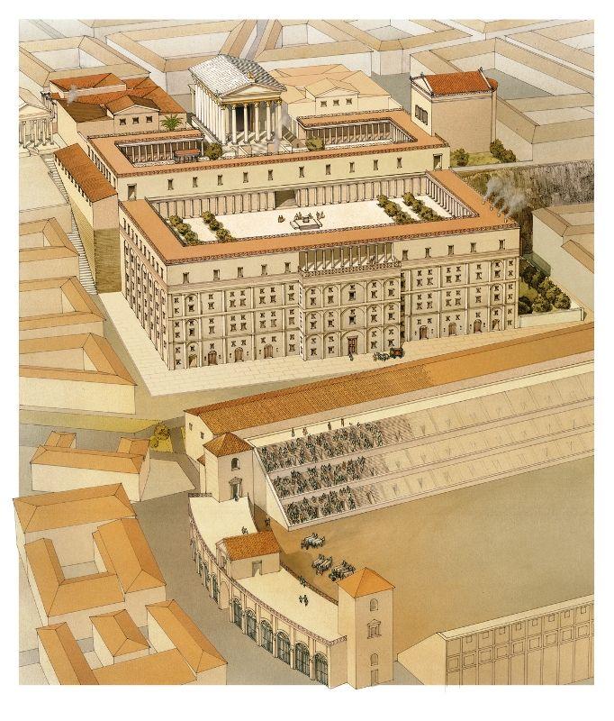 Domus Augusta  Ancient Roman Villas, Domus, And Insulae