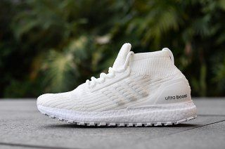 7fe5669f7fb6e Mens Womens Adidas Ultra BOOST ATR Running Shoes Triple White ...