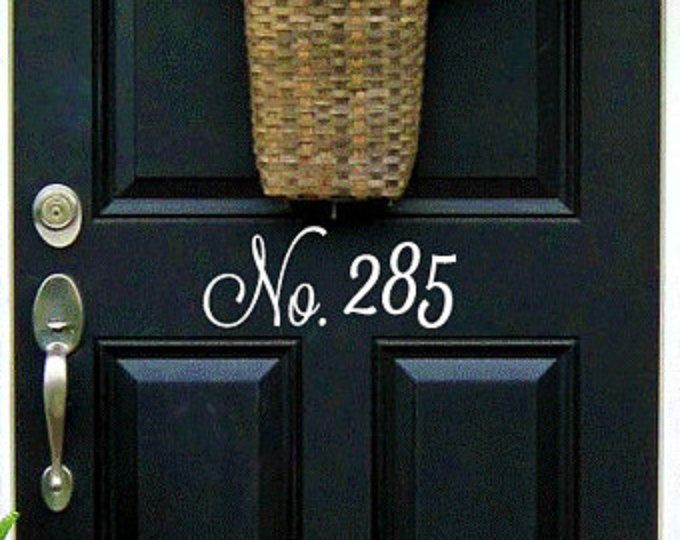 Best Home Exterior Images On Pinterest Blue Doors Doors And - Best creative house number ideas