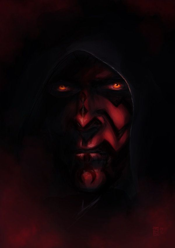 Darth Maul - Star Wars - Ben Wilsonham