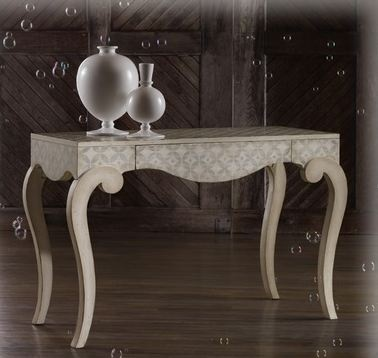 Melange Contemporary Alexis Writing Desk By Hooker Furniture