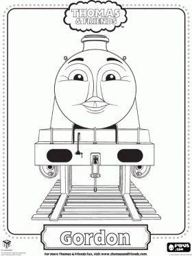 spencer the train coloring pages - thomas the train face printables para colorear de thomas
