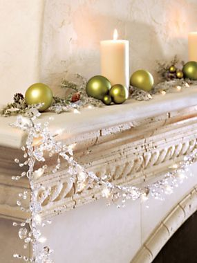 Christmas garland decorations and Diy christmas decorations