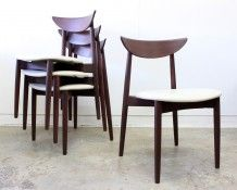 Danish Dining Chairs by Harry Ostergaard