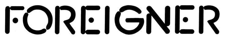 uh-huh | Rock band logos, Foreigner band, Band logos |Foreigner Logo
