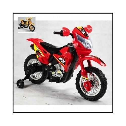 Kids-Dirt-Bike-Mini-Motorcycle-Ride-On-Go-Cart-Red-Electric-Scooter-Motocross-6V