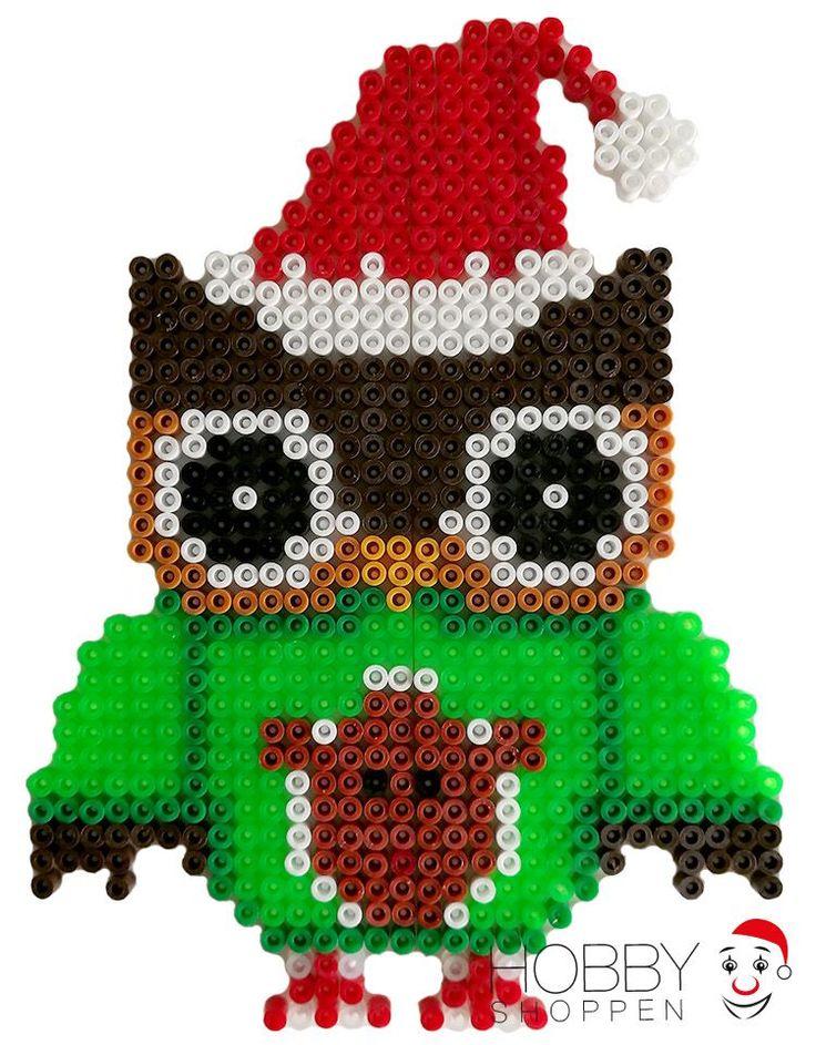 Ugle med juletøj