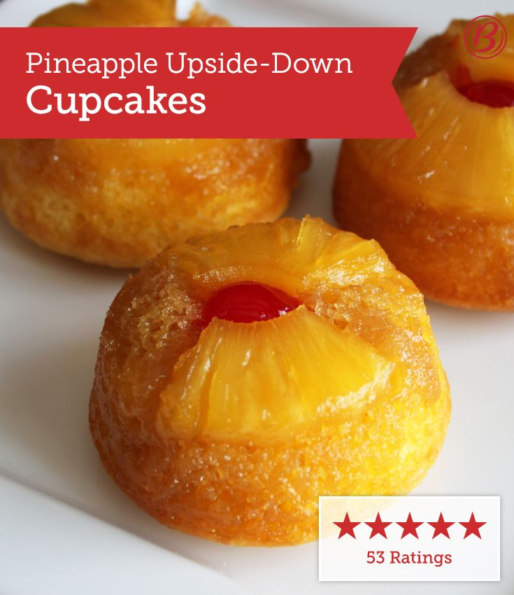 Everyone loves cupcakes, and our members can't seem to get enough of these pineapple-filled minis!