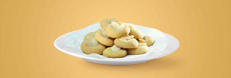 Almond Honey Butter Cookies