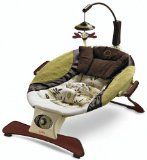 If you are tired of listening to the same lullabies over and over, you will find the ones on this baby bouncer seat refreshing. Featuring an...