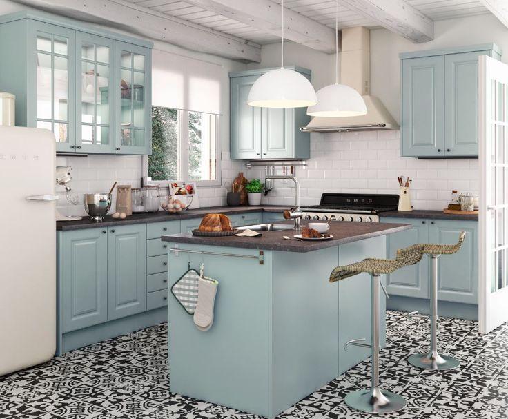 Te gustan las cocinas retro sue a tu cocina for Cocinas completas ikea