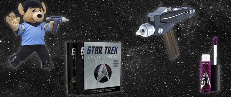 Best Trek Products of 2016   Ask Star Trek fans what their favorite Trek product of 2016 was and you'll get a wide variety of replies. And that's because for Trek's 50th annivesary licensees came up with a galaxy of cool stuff from bears to books makeup to Air Hogs and more. Below check out just a few of the most-popular Trek-inspired products released in 2016...  Air Hogs this summer introduced a U.S.S. Enterprise NCC-1701-A quadcopter. Modeled after the Kirk's beloved ship as seen in Star…