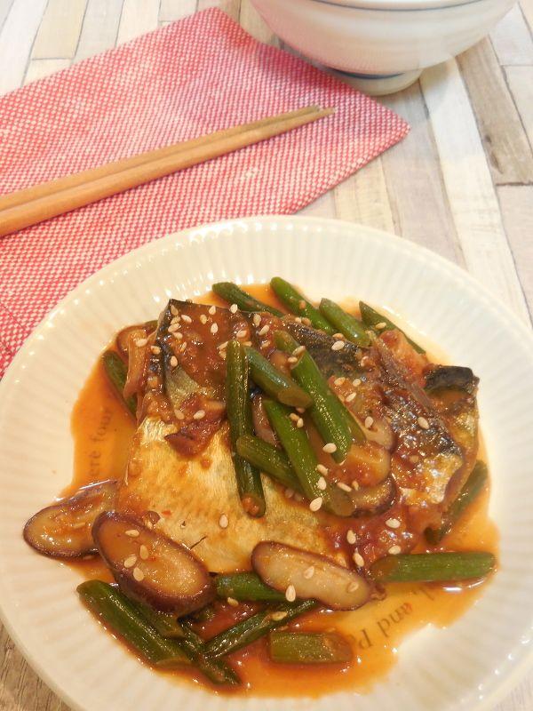 鯖の韓国風味噌煮 by むつみかん | レシピサイト「Nadia | ナディア ...
