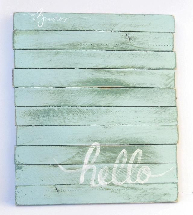 pallet project/wall art ideas