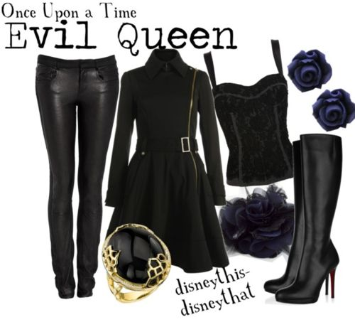 Omg please get me an evil queen oitfit ......Once Upon a Time - Evil Queen Regina Mills