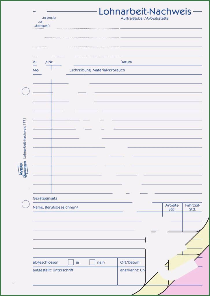 30 Luxus Lohnarbeit Nachweis Vorlage Pdf Modelle Briefkopf Vorlage Vorlagen Excel Vorlage