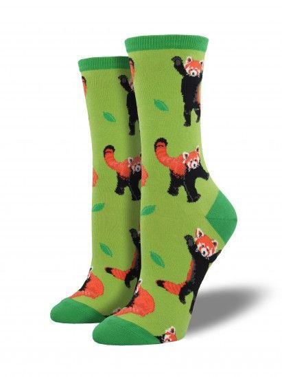 Red Panda Socks