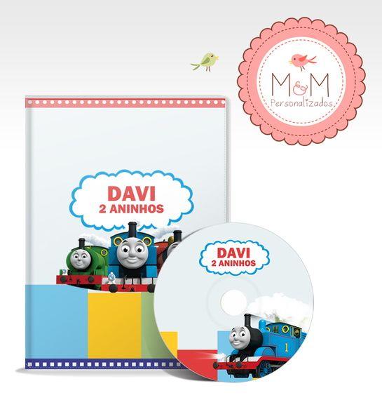 DVD + Capa Personalizados - Thomas