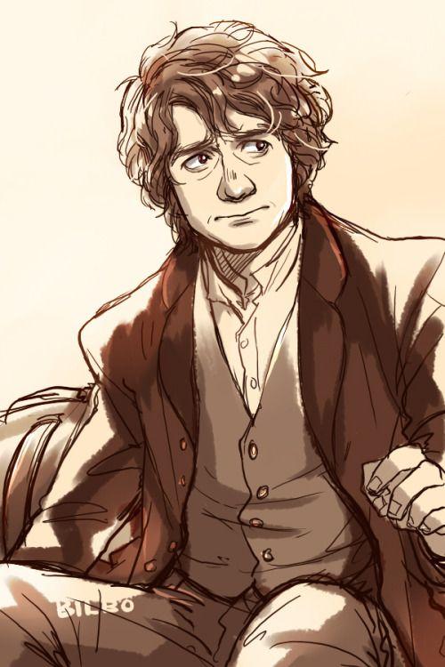 "kanapy:  "" Bilbo Baggins from The Hobbit.  """