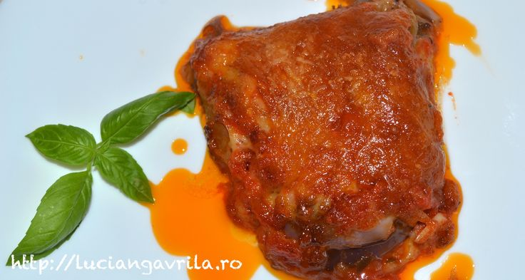 Parmigiana de vinete sferice / Melanzane alla Parmigiana