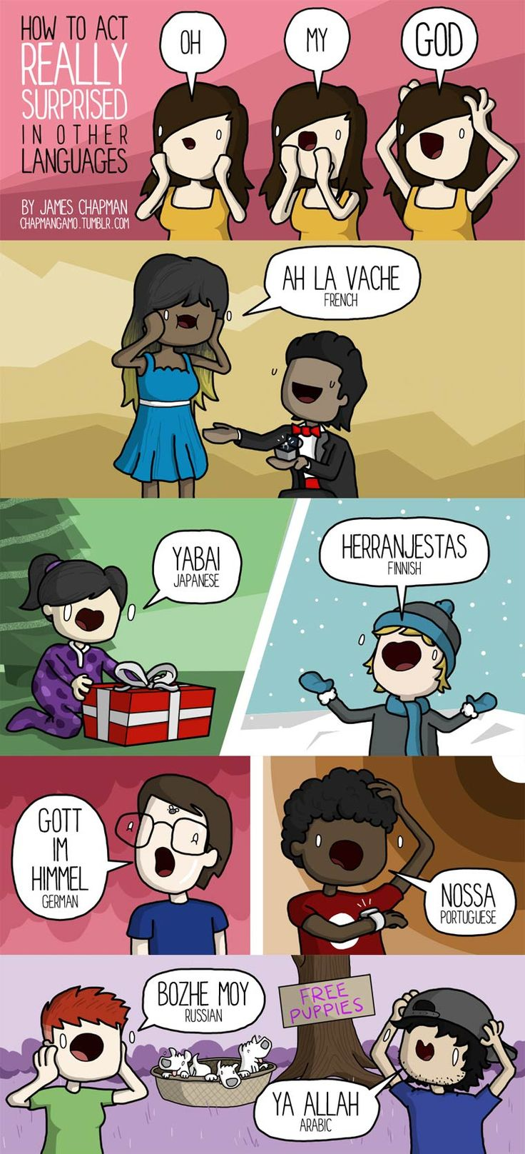 25 Sounds In Different Languages. #22 Is Priceless Photo