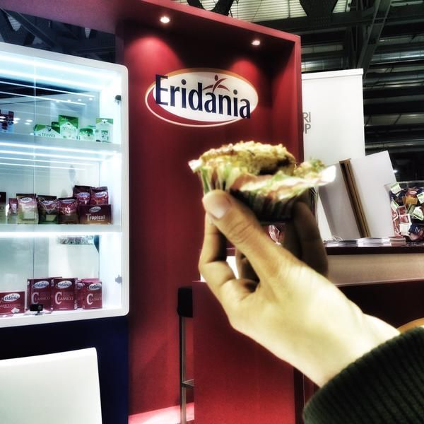 """Un """"morso"""" di """"Francia in bici"""" #TuttoFood2015 #showcooking #food #recipes #event #cookies #muffin #StefanKrueger #pastry #pastrylab @CookeryLab"""