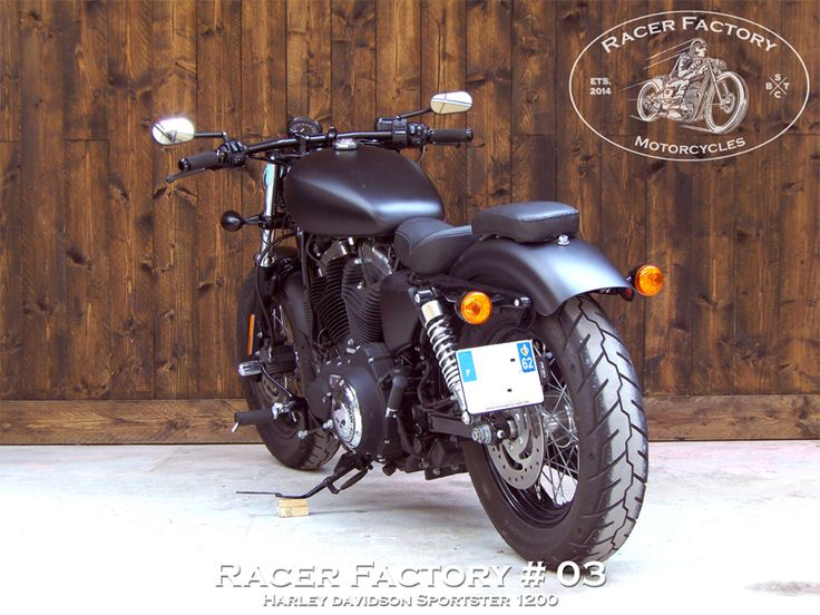 rf 03 harley davidson sportster mod le forty eight 1200 by racer factory projects to try. Black Bedroom Furniture Sets. Home Design Ideas