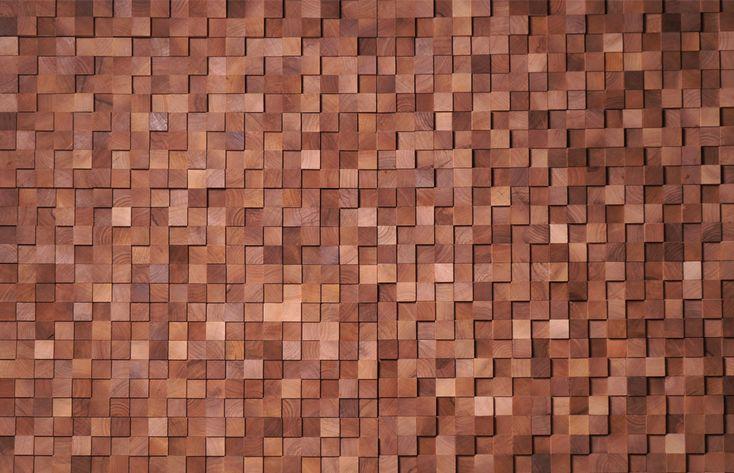 Wall - Walnut small square