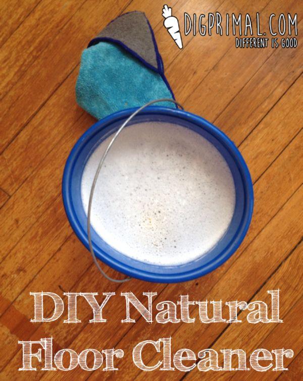 DIY Natural Floor Cleaner | D.I.G. Primal