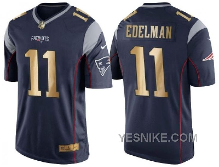 http://www.yesnike.com/big-discount-66-off-nike-new-england-patriots-11-julian-edelman-navy-blue-mens-nfl-game-2016-christmas-golden-edition-jersey.html BIG DISCOUNT ! 66% OFF ! NIKE NEW ENGLAND PATRIOTS #11 JULIAN EDELMAN NAVY BLUE MEN'S NFL GAME 2016 CHRISTMAS GOLDEN EDITION JERSEY Only $26.00 , Free Shipping!
