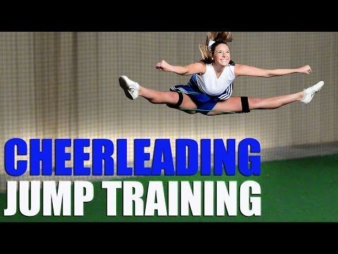 Cheerleading Jump Workout With Cheer Kinetic Bands. Visit www.myosource.com and use the coupon code PINIT15 for 15% off cheerleading equipment.
