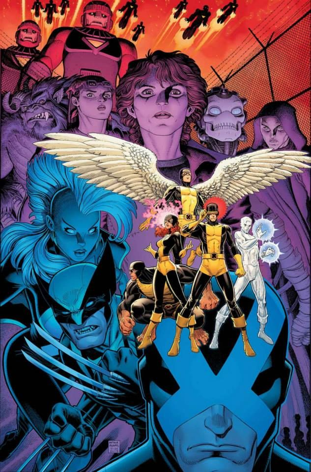 X Men Battle Of The Atom Vol 1 1 Textless Cover Art By Arthur Adams Atom Comics X Men Comic Books