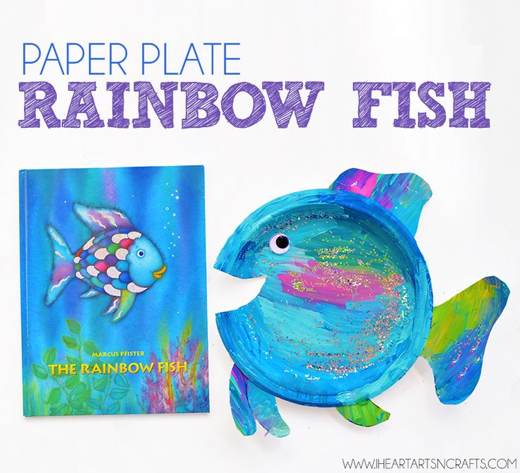 546 best kids paper plate crafts images on pinterest for Best fish for kids