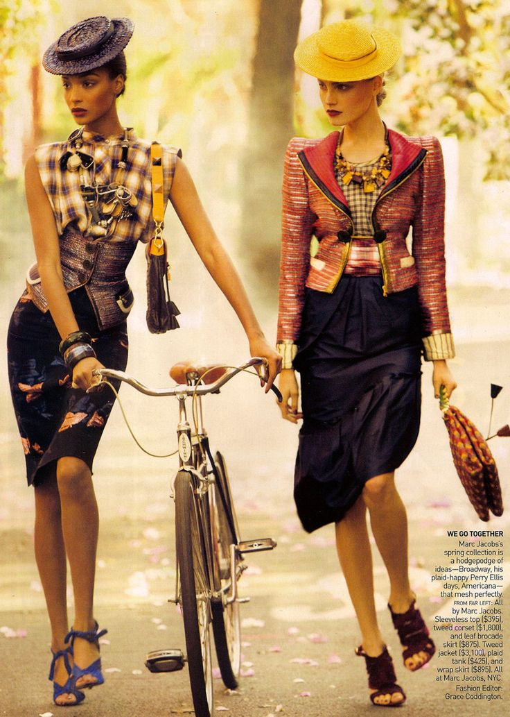 It's a Madcap World | Steven Meisel #photography | Vogue US February 2009