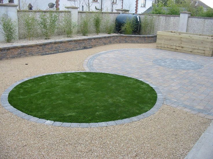 72 best images about backyard ideas on pinterest back for Low maintenance lawn design