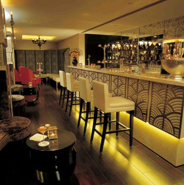 9 best images about art deco bars on pinterest - Deco bar design ...