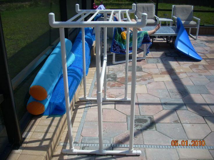 pvc drying rack instructions